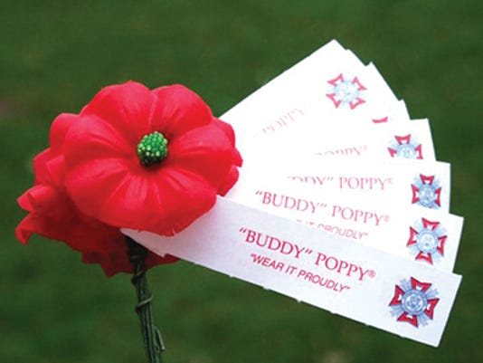 Veterans Selling Poppy Seed Packets To Remember Wwi