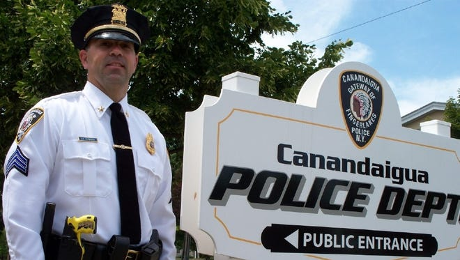 Sgt. Stephen Hedworth, the interim Canandaigua police chief.