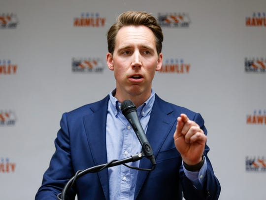 Missouri Attorney General Josh Hawley is shown in a file photo.