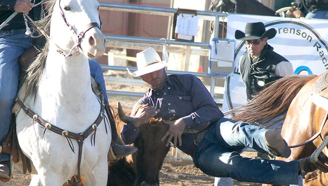 Cowboys are the main attraction during the Wild, Wild Pro Rodeo this weekend in Silver City.