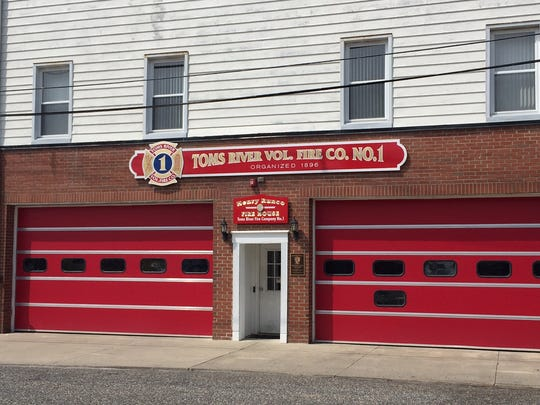Toms River Fire Co. 1 is located on Robbins Street in downtown Toms River.