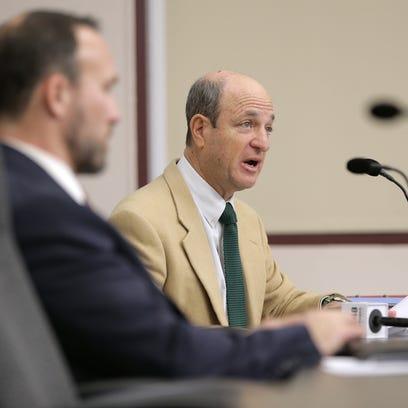 Stuart Schwartz and the City Ethics Commission meets