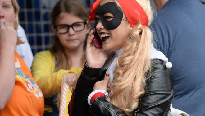 Thousands attended the Louisiana Comic Con at the Bossier Civic Center.