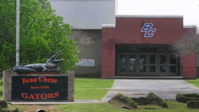 Beau Chene High School is pictured in St. Landry Parish.