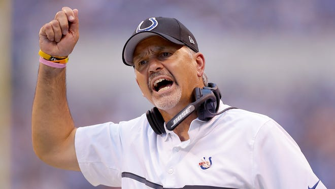 Colts coach Chuck Pagano is beloved by his players, Gregg Doyel writes, yet can't get them consistently ready to play.