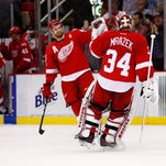 Red Wings stun NHL-best Capitals in shoot-out, 3-2