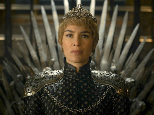 In this image released by HBO, Lena Headey appears