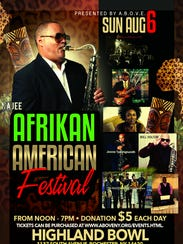 The 2017 Afrikan American Festival at Highland Bowl