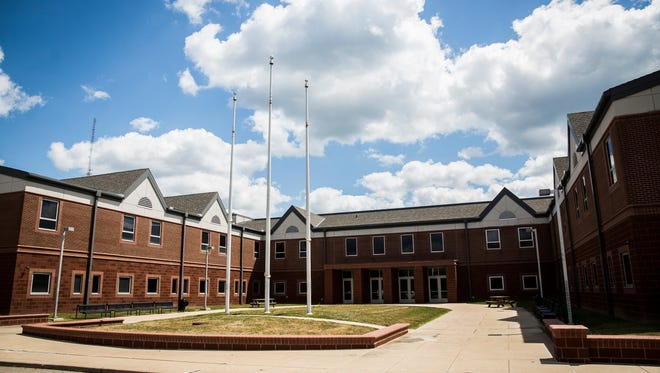 Delaware County officials have agreed to buy the former Wilson Middle School for a new jail.