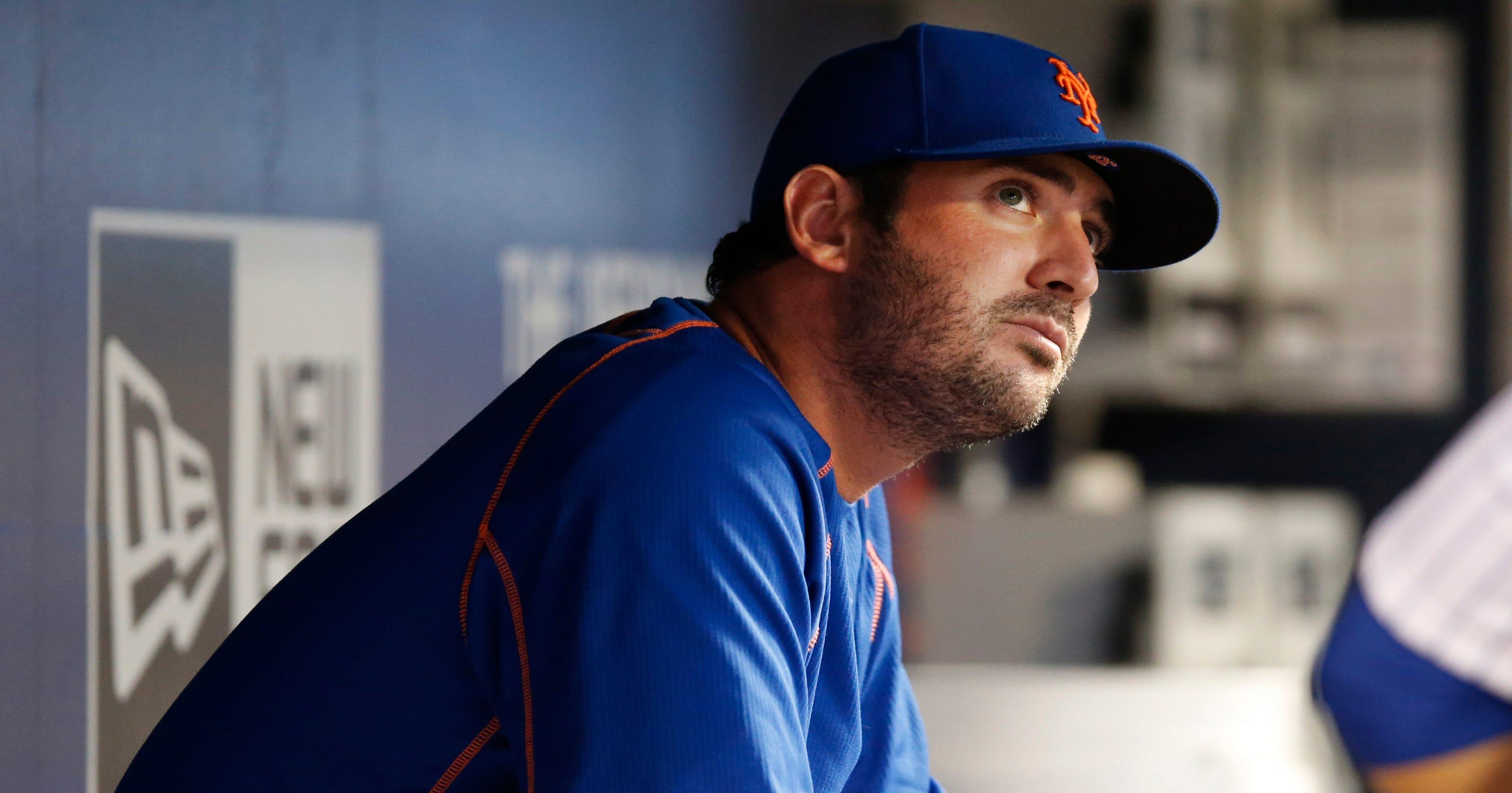 24a12aa7c87 NY Mets  Teammates didn t get to know Matt Harvey well