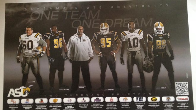 Alabama State unveils scheduling poster for upcoming season