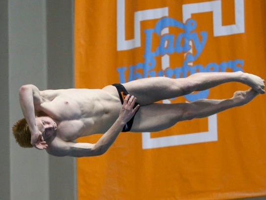 Liam Stone is the SEC male diver of the year.
