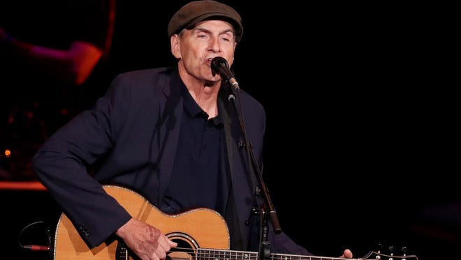 James Taylor performs at the American Family Insurance Amphitheater June 28.