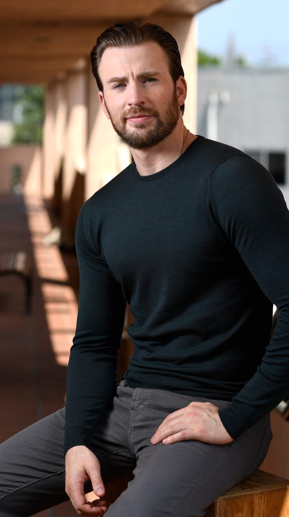 Chris Evans, also known as Captain America.