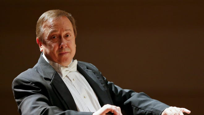 Great Falls Symphony music director and conductor Gordon Johnson conducts will retire at the end of the 2016-2017 season.