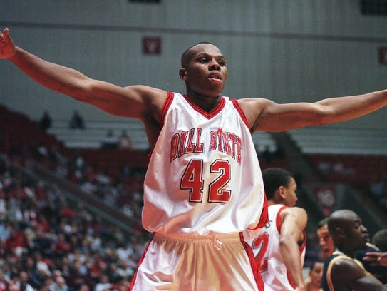 FILE - Former Ball State star Bonzi Wells.