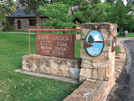 Fort Abraham Lincoln State Park is rich in military