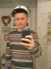 Blaze Christopher Thomas, 16, has been reported as a runaway with the Carson City Sheriff's Office.