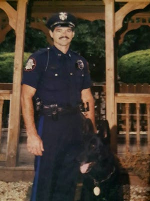 Retired Lower Windsor Township Police Officer Merle Shirey died Wednesday after falling two stories in Dover, according to the York County Coroner's Office.