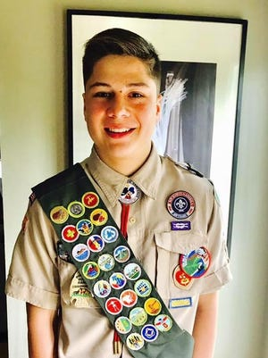 Dionel Esteves recently earned his Eagle Scout rank for his efforts to help the Raritan River.