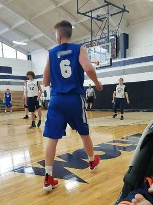 Jerseys worn by a Kings recreational basketball team.
