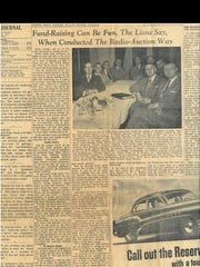 A Gleaner article from March 9, 1952, which informs
