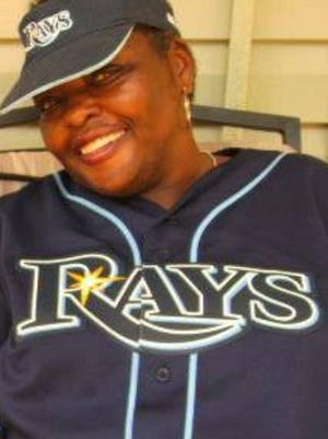 """Angela """"Cookie"""" McClain loved the Tampa Bay Rays."""