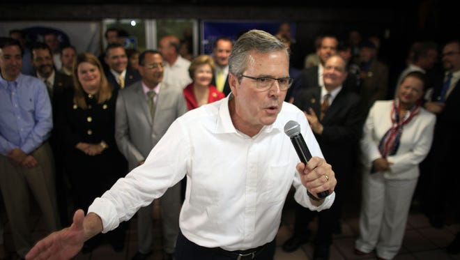 Former Florida Gov. Jeb Bush dropped out of the Republican presidential primary after trailing eventual nominee Donald Trump.