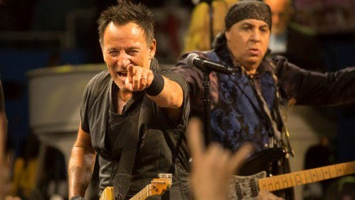 Bruce Springsteen announced that his April 10 show in Greensboro is canceled due to North Carolina's HB2.