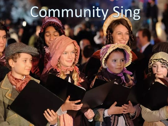 The Amherst Community Sing will take place Dec. 16,
