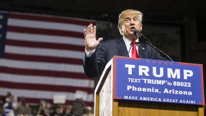 Donald Trump signaled his Phoenix speech will be about