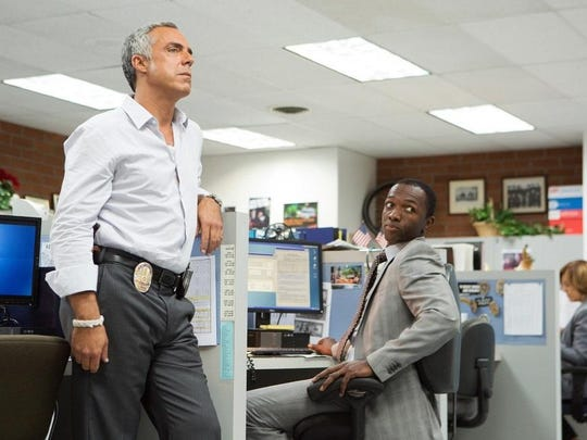 "Titus Welliver and Jamie Hector star in ""Bosch,"" the Amazon original series based on the novels of Michael Connelly."