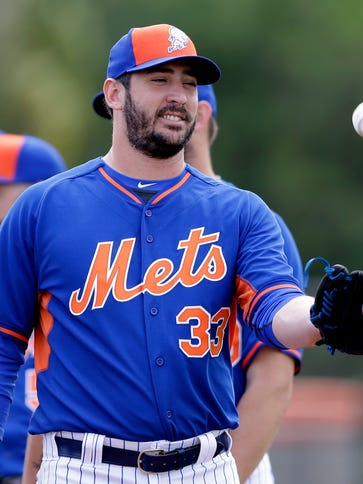 Matt Harvey last pitched in a major league game on