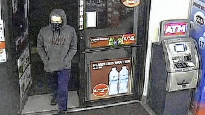 A robbery occurred about 5 a.m. July 26 at Circle K, 4235 Avery Road, according to the Hilliard Division of Police. A man wearing a mask and brandishing a gun demanded and took $60, police said.