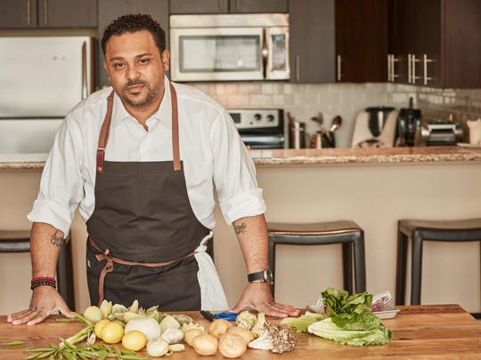 Kevin Sbraga draws upon his South Jersey upbringing in his passion for cooking and hospitality.