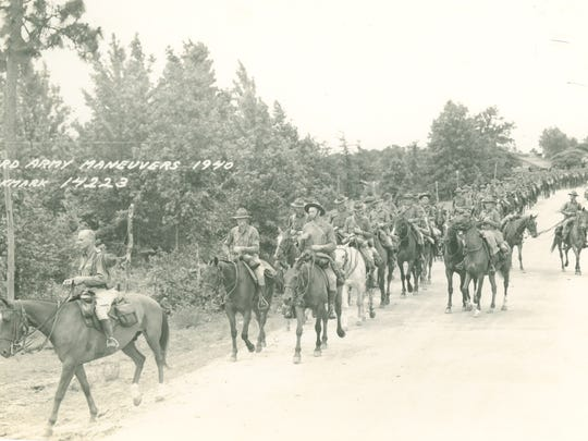 In 1940 and 1941, large numbers of horse cavalry were pitted against armored units during the Louisiana Maneuvers in a test of old tactics vs. new. The Army found horses unsuitable for modern warfare, hastening the transition to a mechanized force.