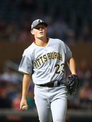 Cedar Rapids native Mitch Keller will make his big-league debut on Monday.