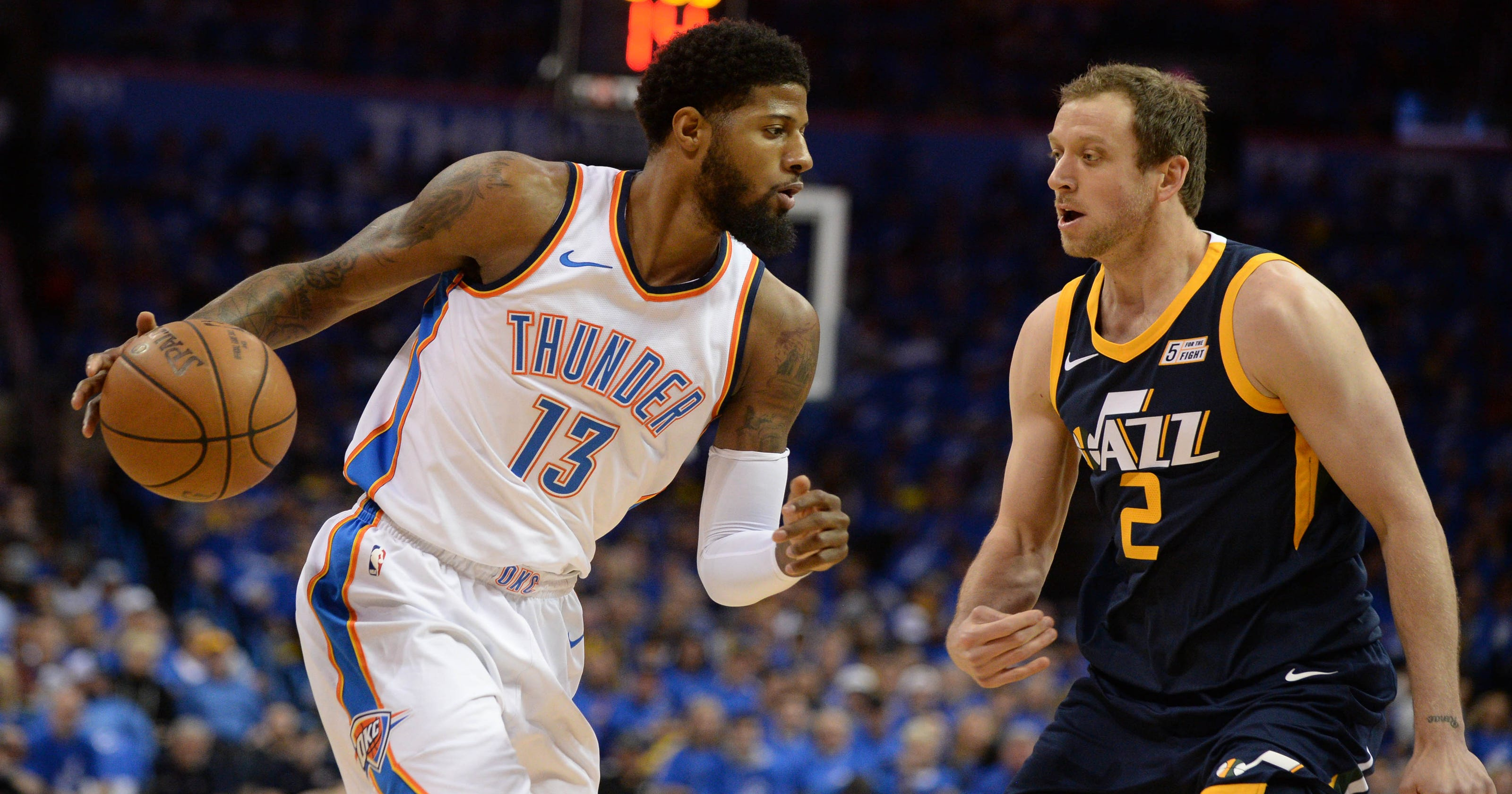 ab0294e49fc NBA playoffs  Could Paul George s Game 1 be a sign of what s to come