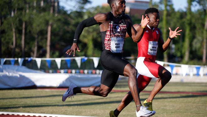 FSU's Keniel Grant, seen here competing at the ACC Championships in May 2016, finished fourth at the Clemson Invitational on Jan. 14.