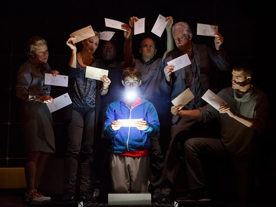 """The cast of """"The Curious Incident of the Dog in the"""