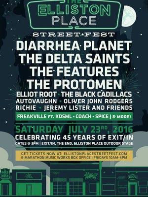 Elliston Place Street Fest