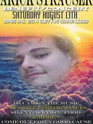 A benefit concert for Arick Strauser is scheduled for Saturday, Aug. 13 at the Brass Rail.