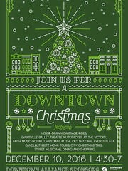 A Downtown Christmas will feature carriage rides and other events throughout Downtown Evansville