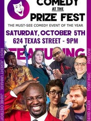Comedy at Prize Fest