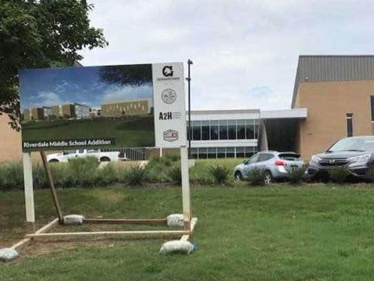 The Riverdale Elementary expansion is going through
