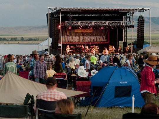 The Red Ants Pants Music Festival in White Sulphur