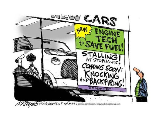 CAR-toon: Stall to save fuel