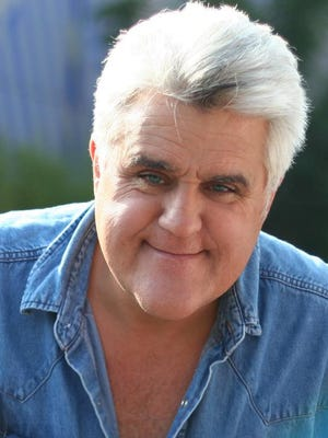 Former 'Tonight Show' host Jay Leno, who hosts a highly rated CNBC series, will make 'em laugh Friday at Caesars Atlantic City.