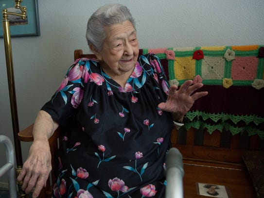 Rose Mackie, a Las Cruces Resident who turned 100 years