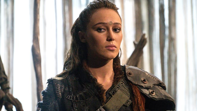 Alycia Debnam-Carey guest stars as Lexa, a leader trying to maintain peace, on 'The 100.'